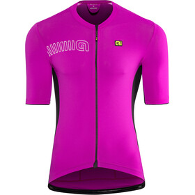 Alé Cycling Solid Color Block SS Jersey Men cyclamen